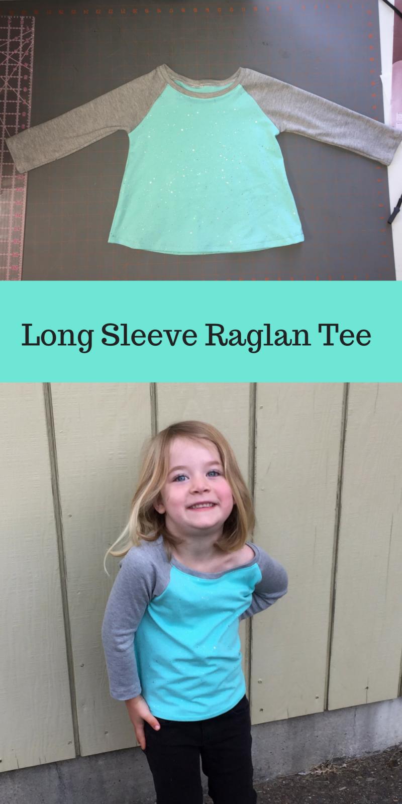 Make your own raglan t-shirt pattern