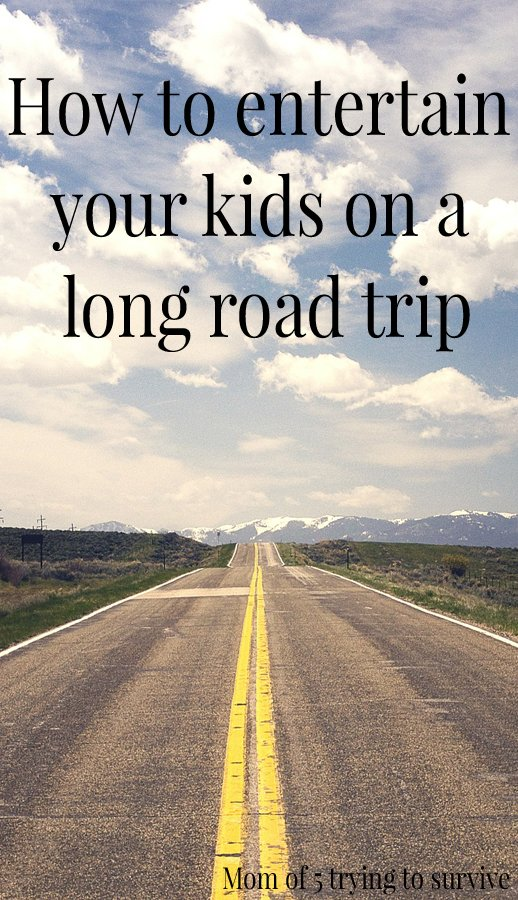 How To Entertain Your Kids On A Long Road Trip