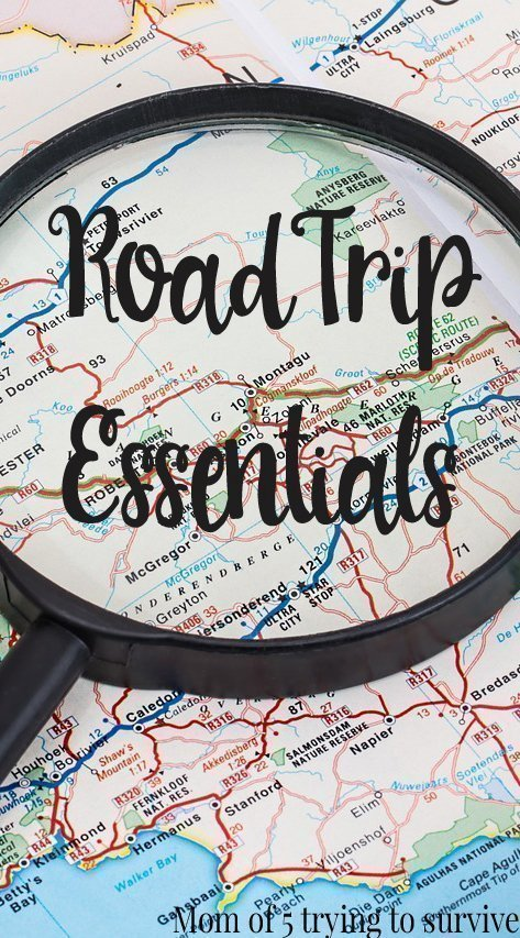 Road Trip Essentials Such a great list to follow when packing for a trip Need to remember this