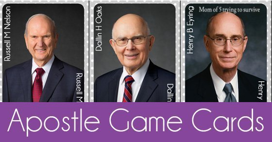 Apostle Game Cards