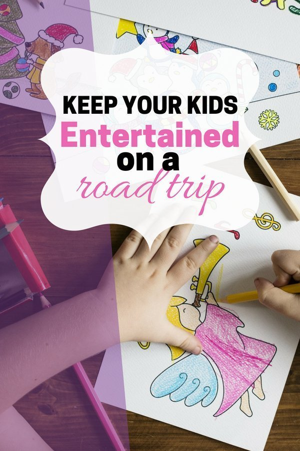 How to entertain your kids on a long road trip | There are some great ideas on here for a car trip