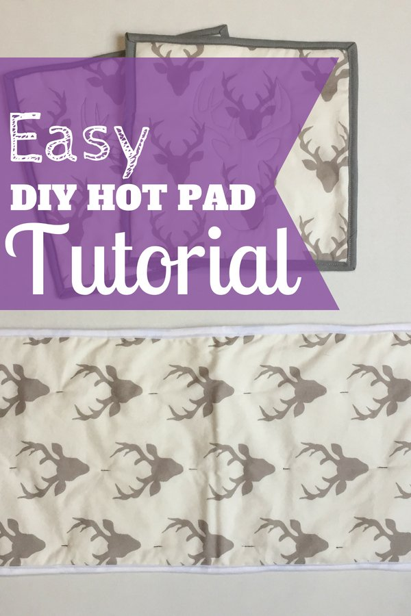 Easy DIY Hot Pad | Simple Hot Pads that look really cute when they are customized with pictures