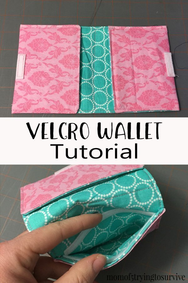 Velcro Wallet Tutorial This is such a cute wallet. My kids would love this! I'm going to make one with DC heroes for my boys!