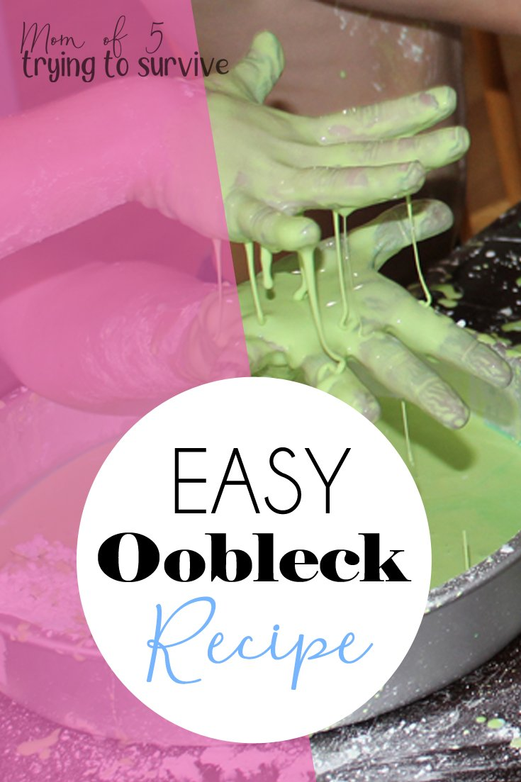 Science experiments with oobleck: We love this messy art project so much. Oobleck is my kids number one way to get messy. #oobleckscience #oobleck #scienceexperiments