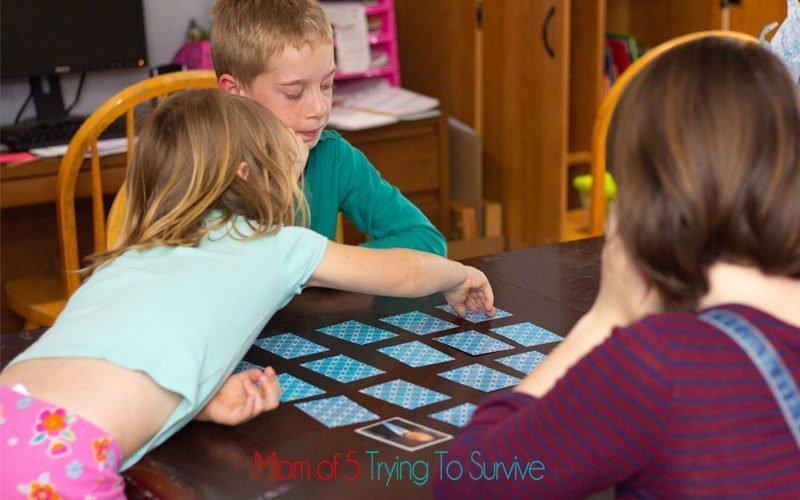 matching apostle game cards