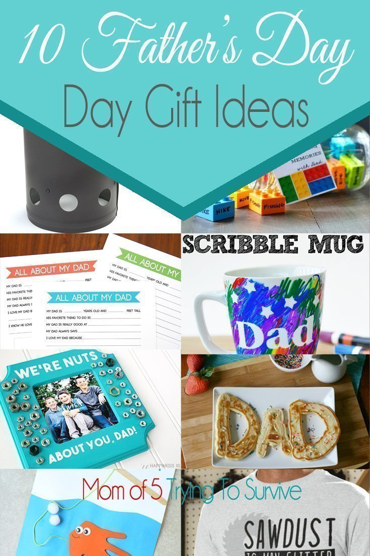 Show dad your appreciation by making him a personalized gift