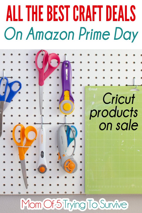 View the craft deals on Amazon Prime Day