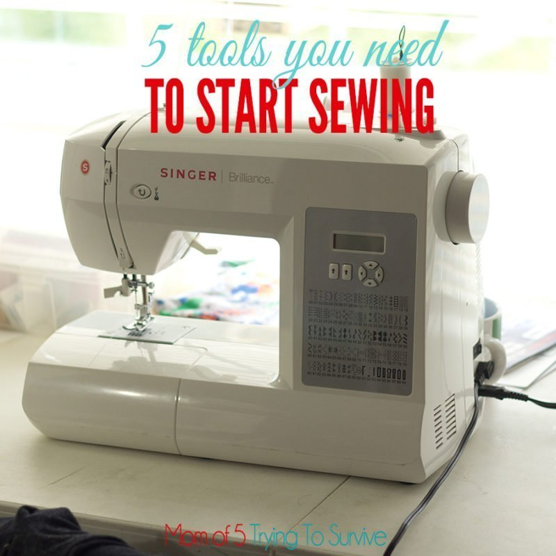 5 sewing tools every beginner needs