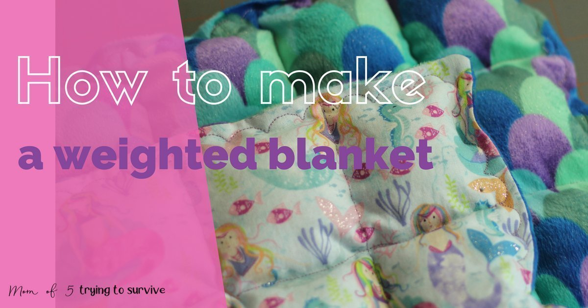 Free Weighted Blanket Tutorial