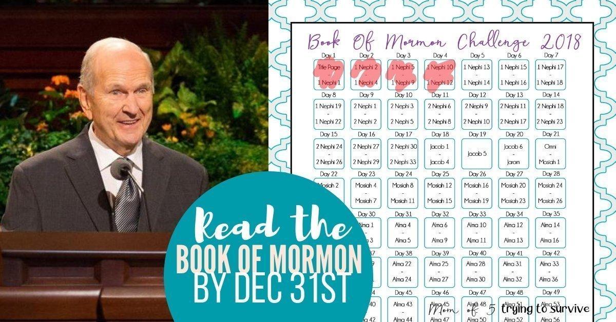 Book of Mormon Challenge 2018