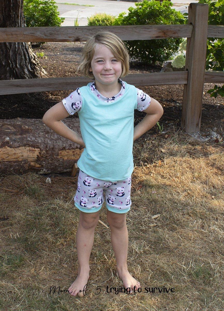 girls pajama pattern