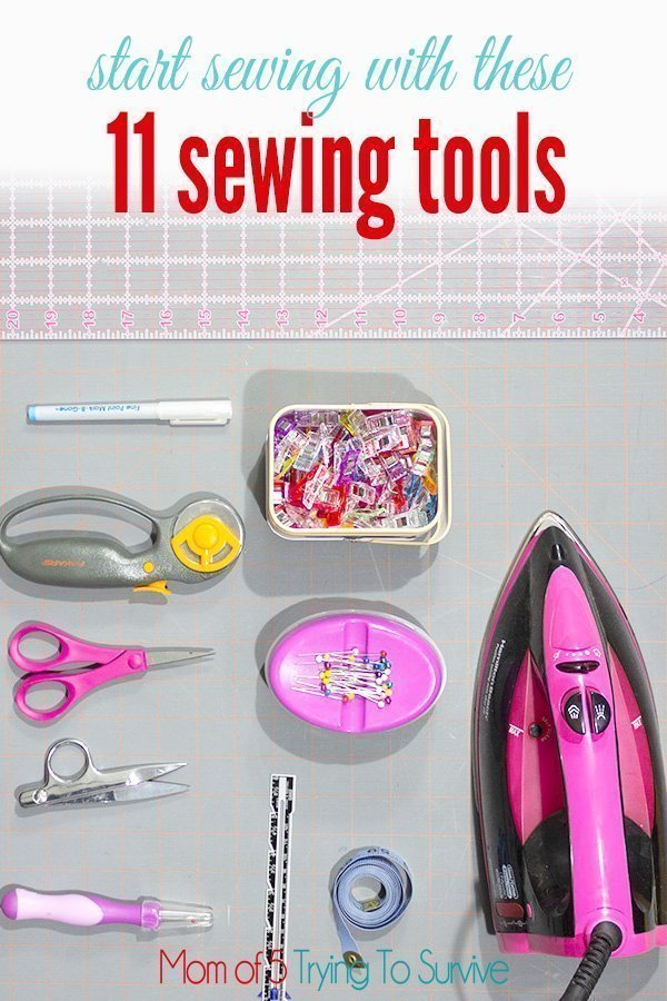 11 sewing tools needed for basic sewing projects