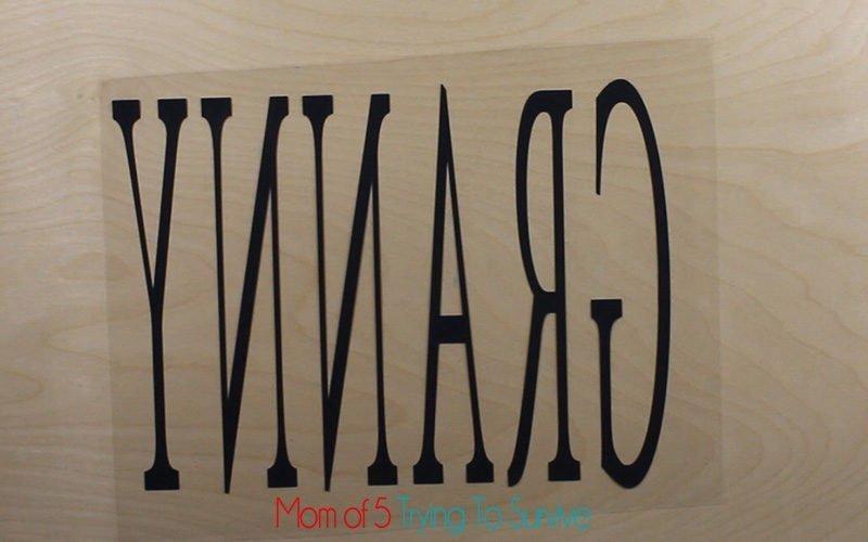 weeded vinyl